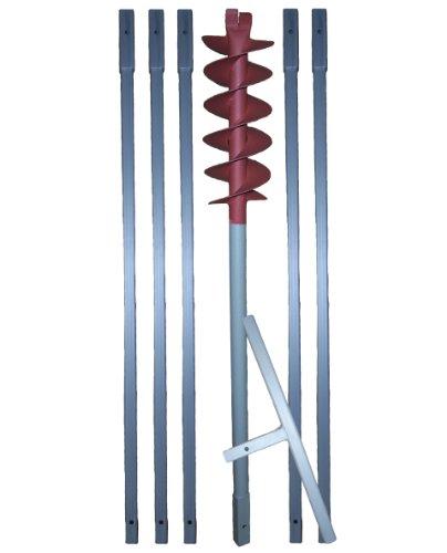 6 m Erdbohrer mit 120 mm Bohrkopf —