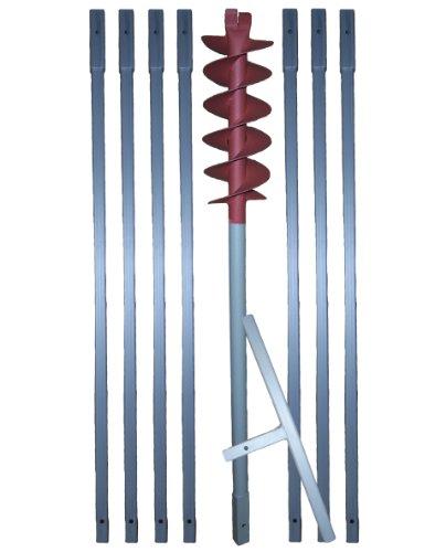 8 m Erdbohrer mit 120 mm Bohrkopf —