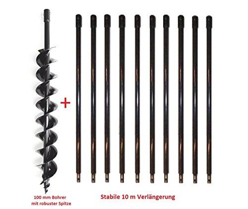 ii ii 10 m verl ngerung erdbohrer erdbohrer angebote tipps. Black Bedroom Furniture Sets. Home Design Ideas