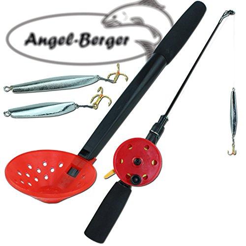 Eisangel Set komplett mit Zocker Angel Berger