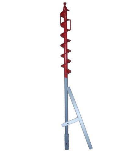 70 mm Erdbohrer 1,1m lang mit Griff —
