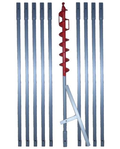10 m Erdbohrer mit 70 mm Bohrkopf —