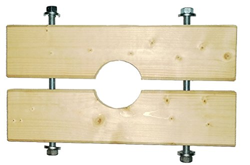 Holzzange für KG Rohre DN125/125 für Brunnenbau