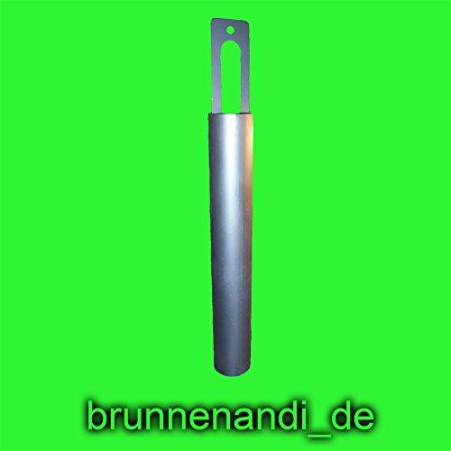 90 mm Kiesplunscher / Kiesbüchse / Kiesplümper usw. für Brunnenbau passend für Rohre DN100 / 110