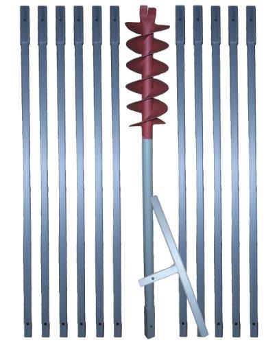 12 m Erdbohrer mit 120 mm Bohrkopf —
