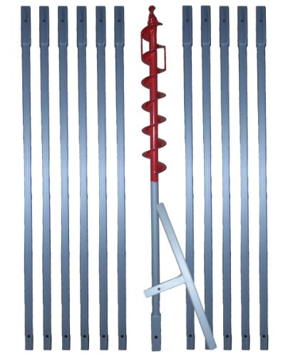 12 m Erdbohrer mit 70 mm Bohrkopf —