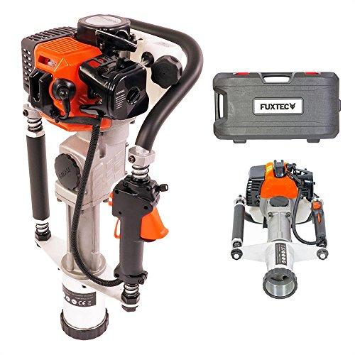 FUXTEC Benzin Pfahlramme FX-PR165 mit 65cm³ Motor inkl. 2 Raumsockelhalterungen